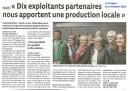 2016 xxxxxx - AMAP dix exploitants partenaires