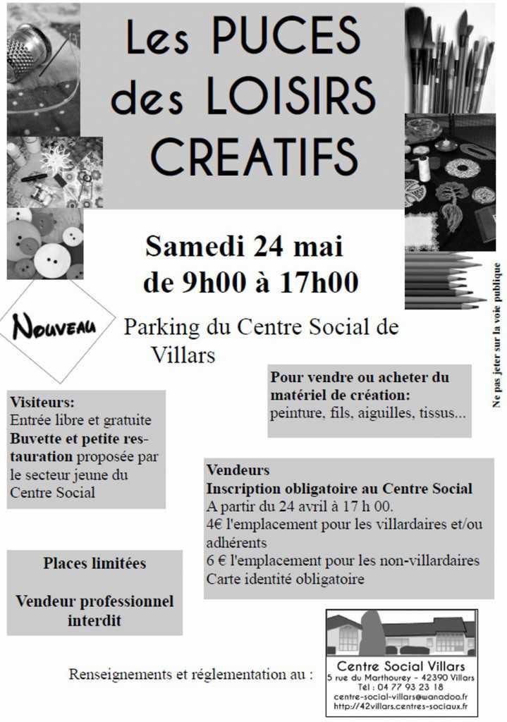 Affiche puces loisirs créatifs-2014-1