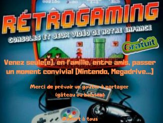 Affiche Rétro-gaming a