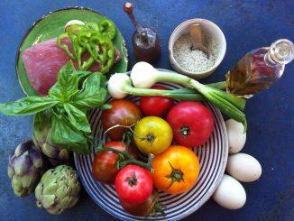 Légumes pour une préparation culinaire