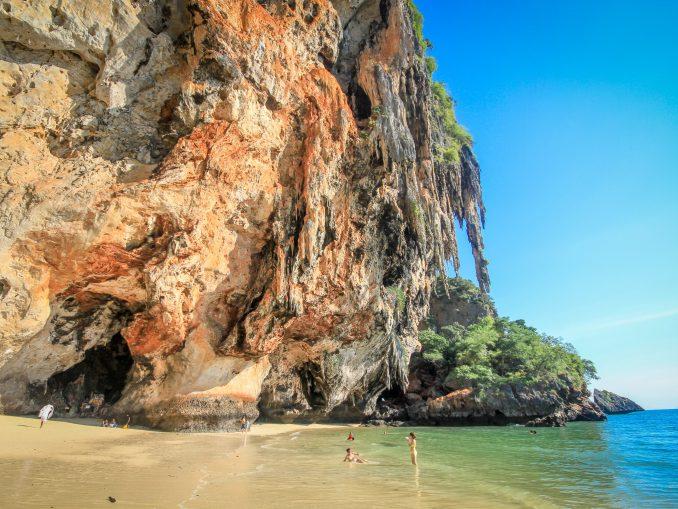 Une plage en Thaïland